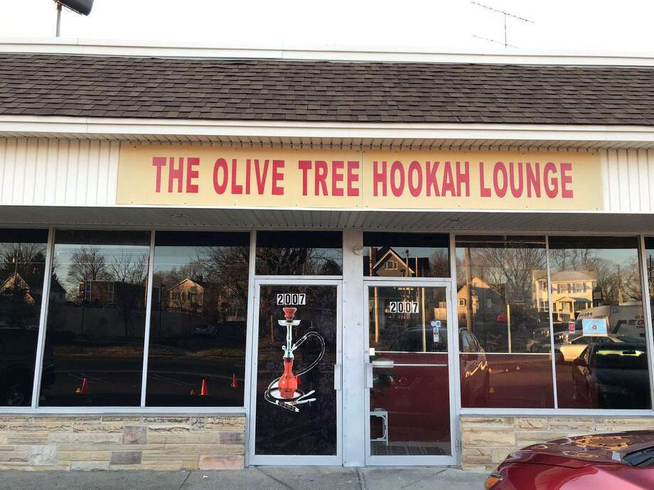 Shots were fired during a fight outside the Olive Tree Hookah Lounge early in the morning on Sunday, March 24, 2019. Photo: Contributed Photo/Milford Police Twitter / Contributed / The News-Times Contributed