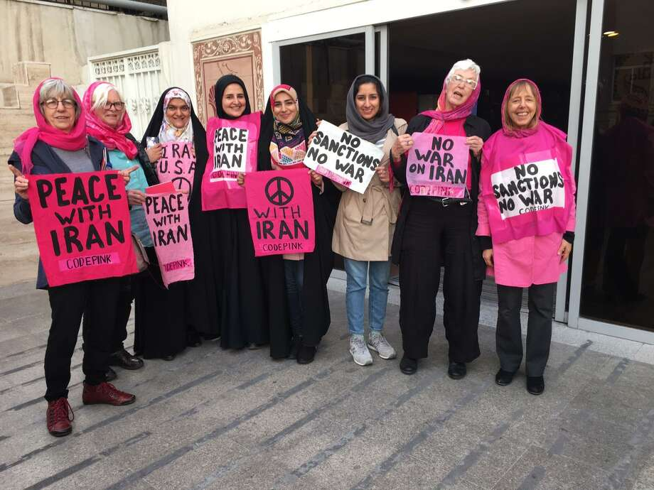 Code Pink in Iran. Photo: Contributed Photo
