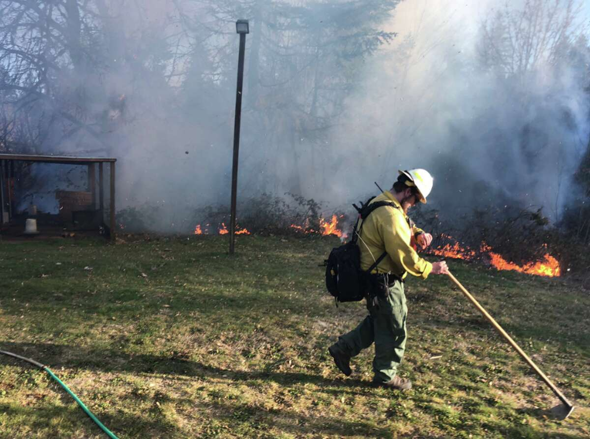 There are many things a resident can do to protect themselves and their property from wildfires. Keep clicking for some tips from Janet Pearce, spokeswoman for the Washington State Department of Natural Resources.