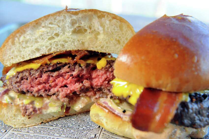 Click through the slideshow for the best hamburgers in the region, according to our 2019 Best of the Capital Region reader poll. Click through the slideshow above for the best burgers in the Capital Region, according to ourBest of the Capital Region 2019reader poll. More Best of the Capital Region 2019:Burgers|Outdoor dining|Chicken wings|Pizza|Bar for beer/beer store|Local brewery