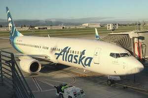 Alaska Airlines new livery on B 737s that are ETOPS equipped to fly to Hawaii
