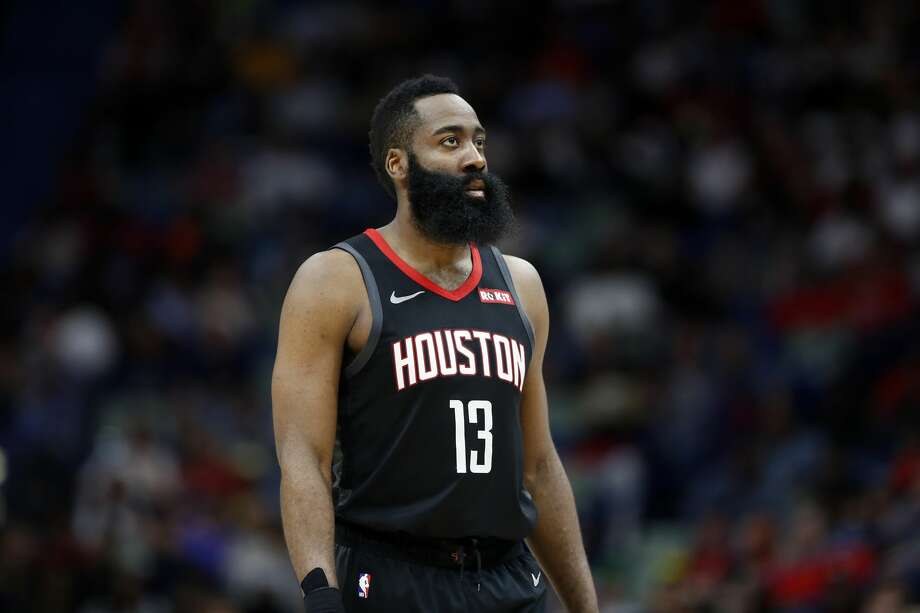 James Harden averaged 44.3 points on 50 percent shooting and 52.8 percent 3-point shooting as the Rockets went 3-1 last week. Photo: Tyler Kaufman/Associated Press