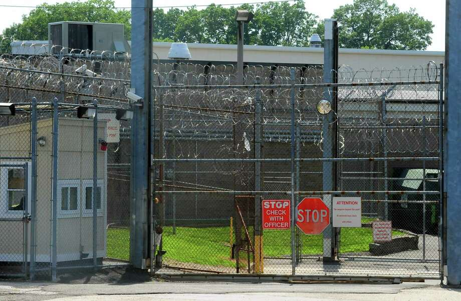 A view of an entrance to the Bridgeport Correctional Center located on North Avenue in Bridgeport. Photo: Christian Abraham / Hearst Connecticut Media / Connecticut Post