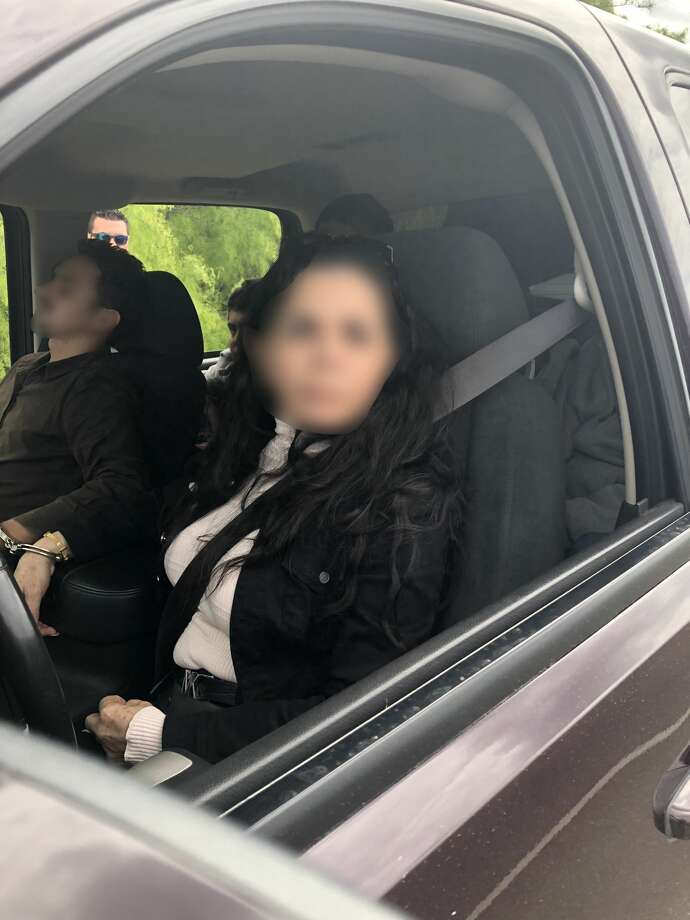 Shown is the driver, a U.S. citizen, who was found to be transporting five undocumented immigrants. Photo: Courtesy