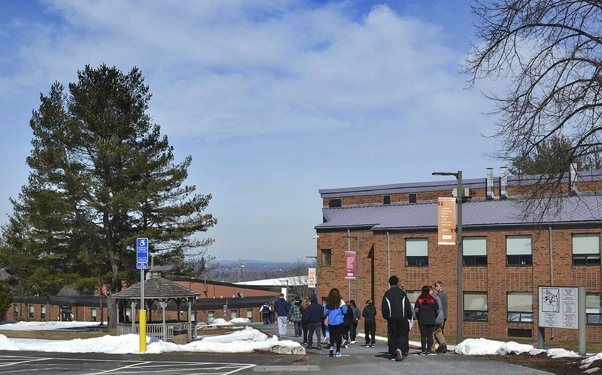 Area high school students visited Middlesex Community College recently for Experience College Day in Middletown.