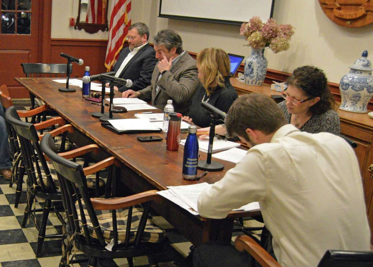 The Weston Board of Selectman approved an agreement at its March 21, 2019, meeting.