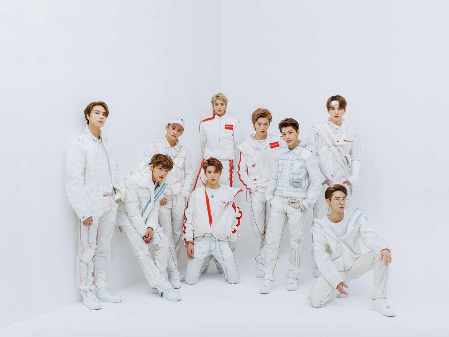 Seoul-based K-pop group NCT127 Photo: Courtesy