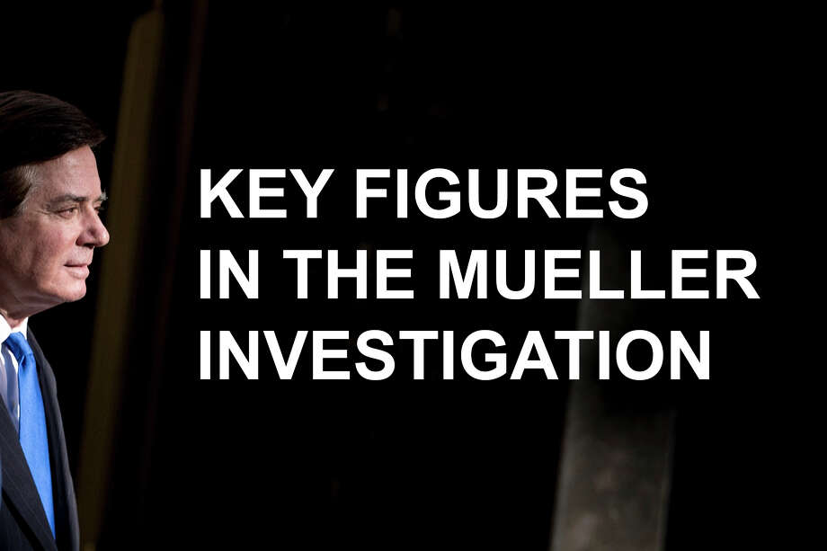 Key figures in the Mueller investigation. Photo: BRENDAN SMIALOWSKI/AFP/Getty Images