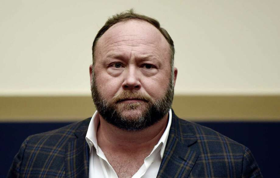 Infowars founder Alex Jones attends Google CEO Sundar Pichai's hearing before the House Judiciary committee on Capitol Hill Dec. 11, 2018 in Washington, D.C. Photo: Olivier Douliery / TNS / Abaca Press