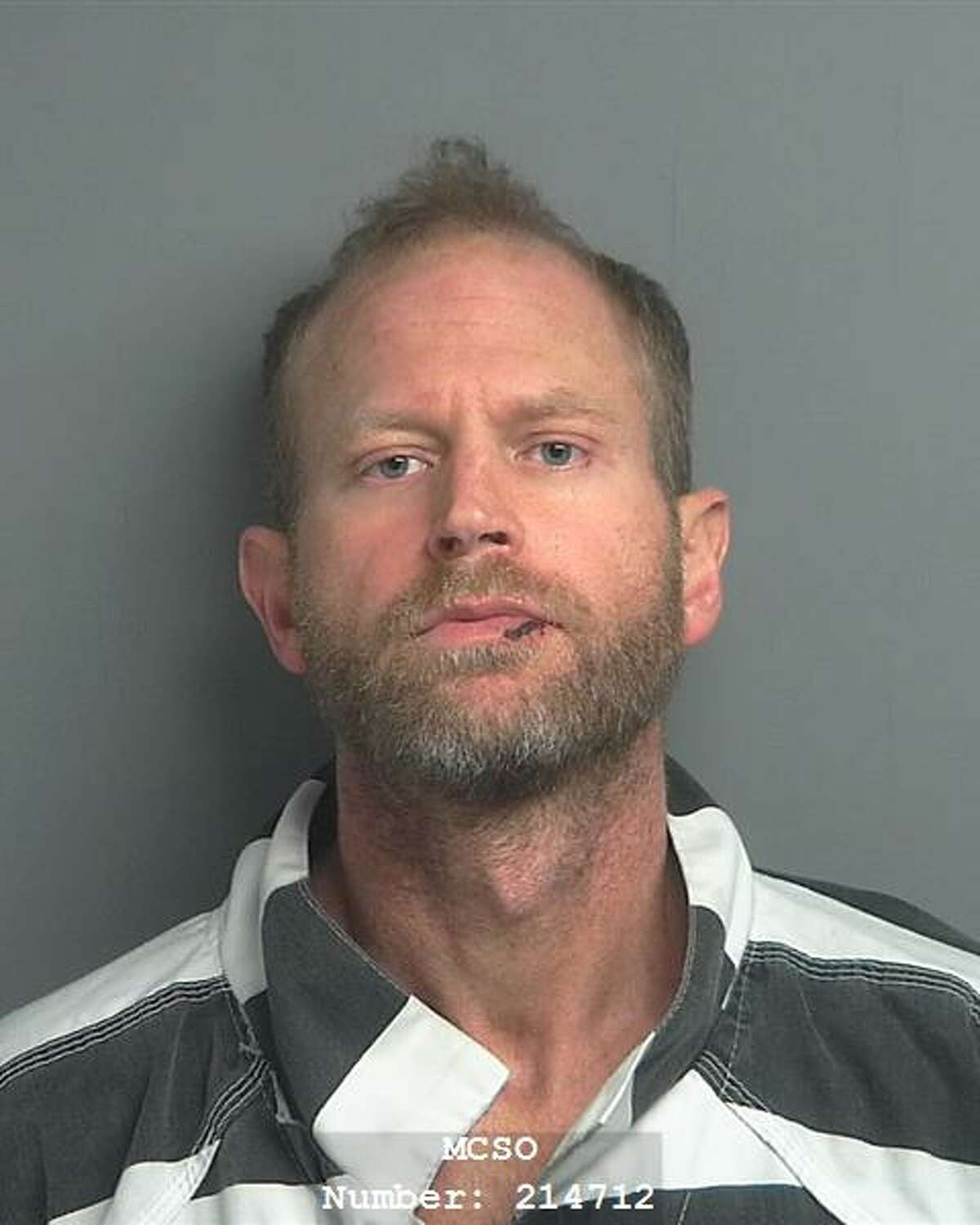 Joshua Mann was arrested on a charge of intoxicated assault with a vehicle.