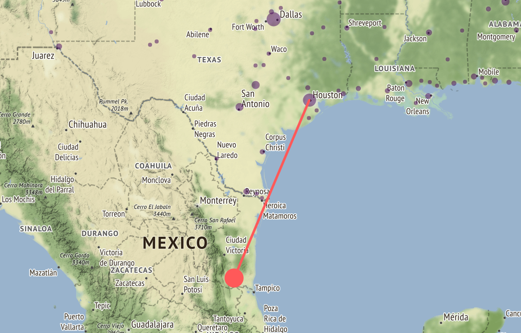 Map shows how climate change will affect Houston 60 years from now