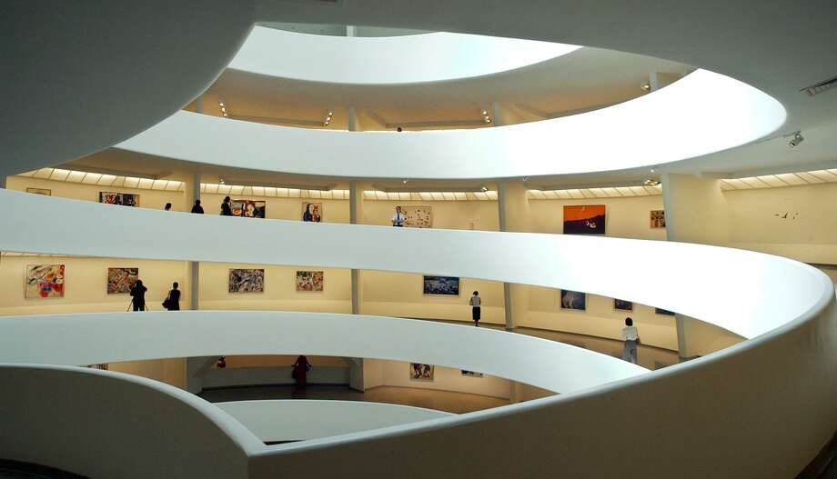 The Solomon R. Guggenheim Museum in Manhattan announced Friday, March 22, 2019 that it would not accept additional donations from the family of Mortimer D. Sackler, one of the owners of OxyContin maker Purdue Pharma. Photo: RICHARD DREW / AP / AP