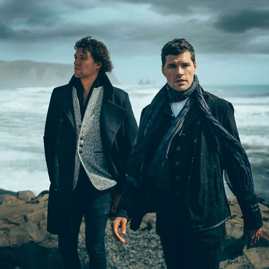 The Christian pop-rock duo for King & Country is in concert at Stamford Palace March 28. Photo: CMA Media Promotions / Contributed Photo
