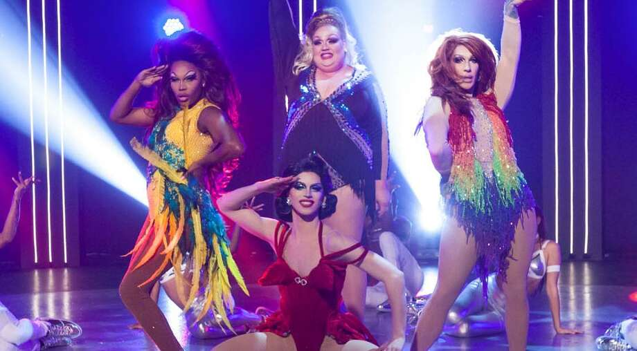 A cohort of drag queen contestants from RuPaul's Drag Race will make a stop Nov. 8 at the Majestic Theatre. Photo: VH1 /VH1