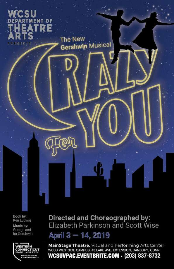 """Crazy for You"" runs April 4-April14 in the MainStage Theatre of the Visual and Performing Arts Center on Western Connecticut State University's Westside campus in Danbury. Photo: WCSU / Contributed Photo"