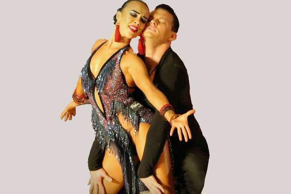 Ivan Kudashev and Ksusha Sokolova, a Latin dance and showdance couple from Russia, will present their show at the Premier Ballroom's monthly dance in the Holy Trinity Greek Church Community Center ballroom in Bridgeport March 30.