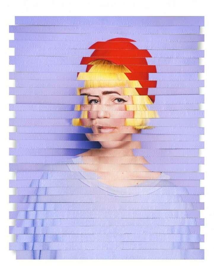 Karen Navarro's Subject #13, 2018. Laser cut exposed photograph. Photo: Latino Art Now