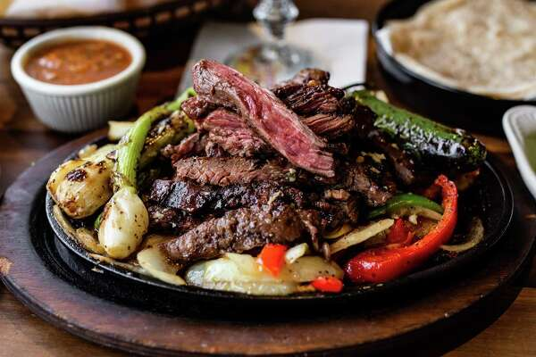 The famous beef fajitas at The Original Ninfa's on Navigation.