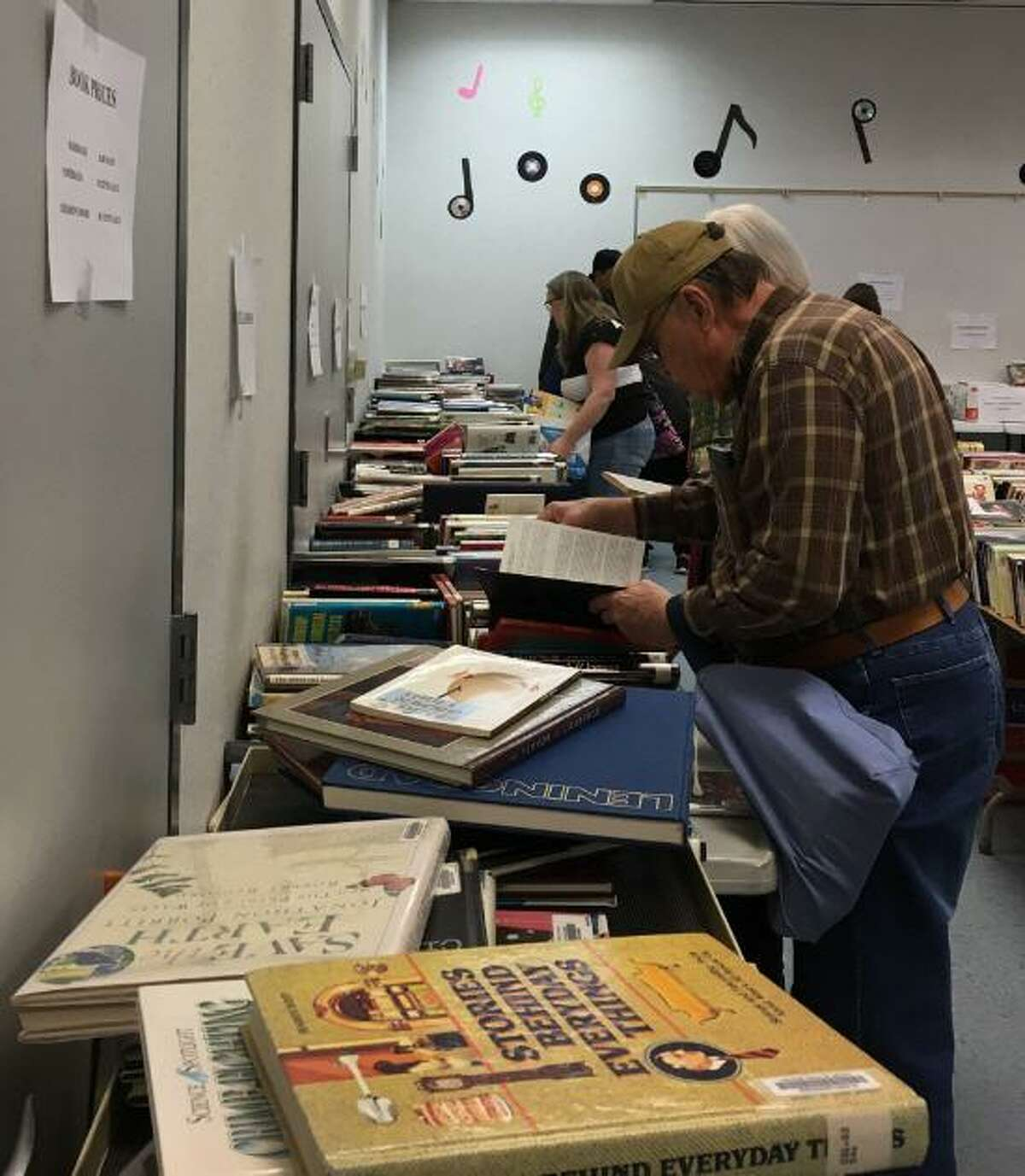 Friends of the Katy Library will hold their annual spring book sale on Saturday, March 14, at the Katy Branch Library at 5414 Franz Road. The sale will feature used books for adults and children. Hardback $1, Paperback 50 cents, Children's books 50 cents. All profits support Katy Library programs.