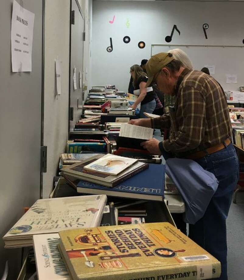 Friends of the Katy Library conducted their spring used book sale on March 16 at the Katy Branch Library.All of the profits from the book sale go to support the library's programs. Photo: Karen Zurawski / Karen Zurawski