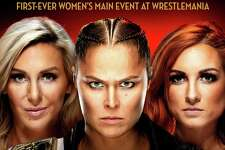 WWE Superstars Charlotte Flair, Ronda Rousey and Becky Lynch will compete in the main event of WrestleMania 35, set for April 7, 2019, at MetLife Stadium in East Rutherford, N.J.