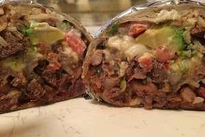A super burrito served at El Palenque Taqueria found at 15 N Kingston St., San Mateo.