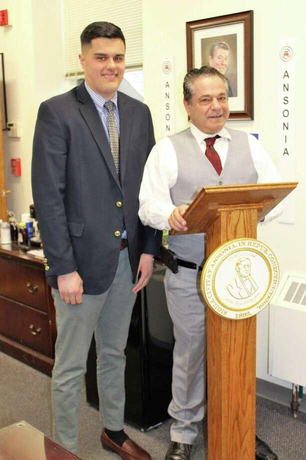 Ansonia Mayor David Cassetti has chosen Frank DeLibero to serve the remainder of DeLibero's late father's aldermanic term. Photo: Jean Falbo-Sosnovich / For Hearst Connecticut Media
