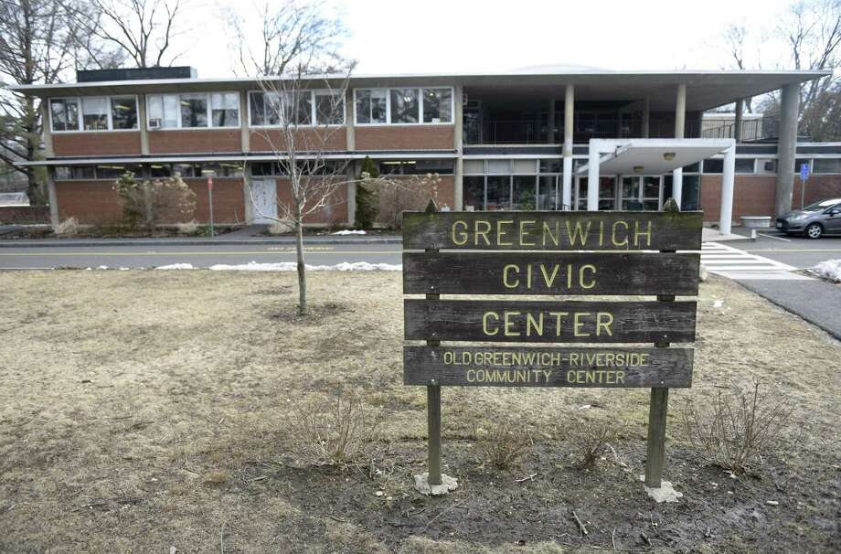The Eastern Greenwich Civic Center in Old Greenwich on March 12, 2019. The town is looking to replace the building. Photo: Tyler Sizemore / Hearst Connecticut Media / Greenwich Time