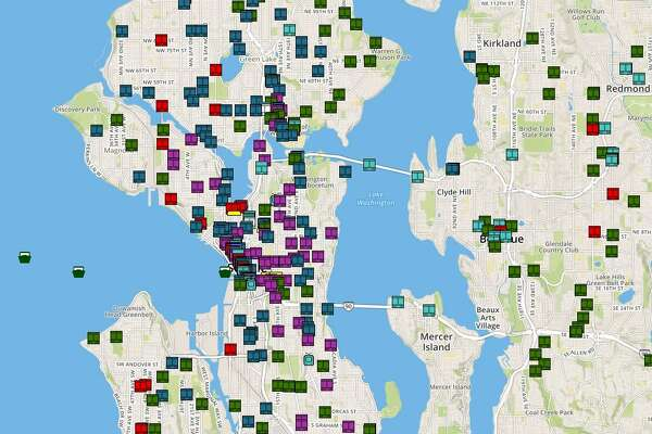 The Puget Sound Transit Operations Tracker shows all transit in Seattle and the greater Puget Sound region on one map at the same time.