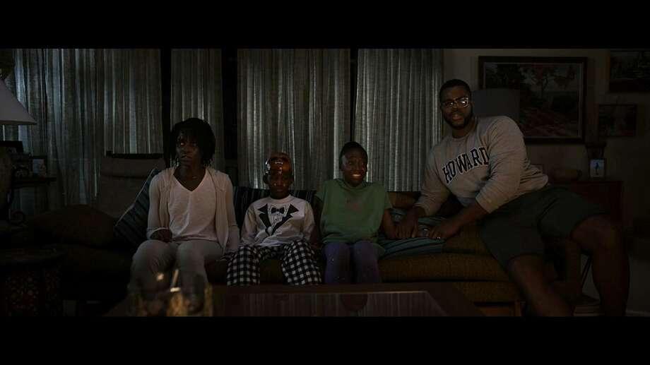 "Lupita Nyong'o, Evan Alex, Shahadi Wright Joseph and  Winston Duke in ""Us."" (Universal Studios)"