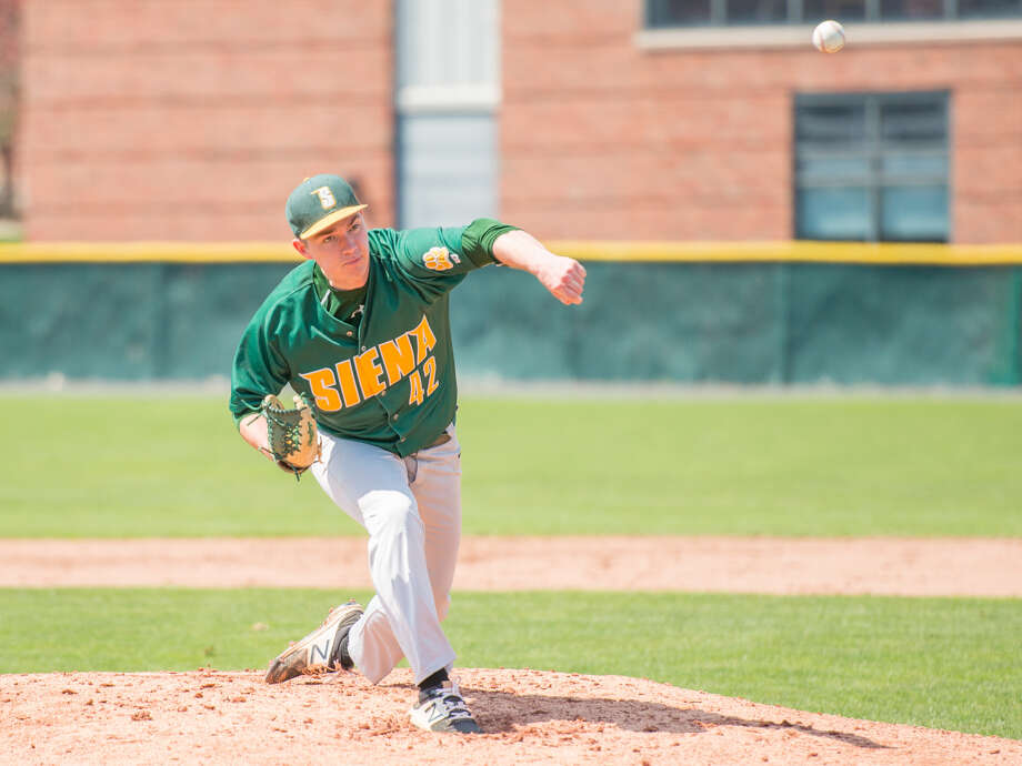 Maple Hill graduate Tommy Miller of the Siena baseball team. (Courtesy of Siena College) Photo: Courtesy Of Siena College