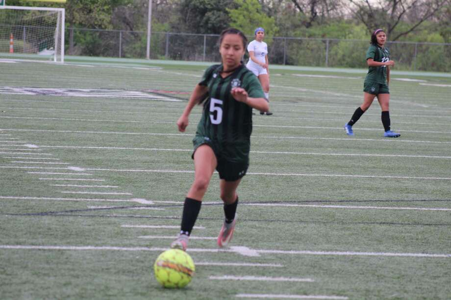 Southwest's Yose Quistiano notched back-to-back three-goal games in wins over Eagle Pass Winn and Somerset to clinch a share of the 28-5A championship. Photo: Courtesy Photo