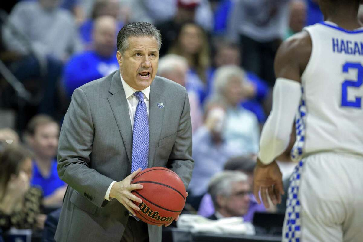 John Calipari won a national championship with Kentucky in 2012 and has the Wildcats in the Sweet 16 for the eighth time in his 10 seasons in Lexington.