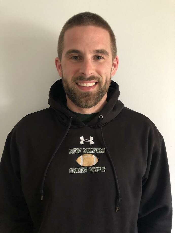 New Milford named 33-year-old Sean Murray as its newest head football coach. Photo: Contributed Photo