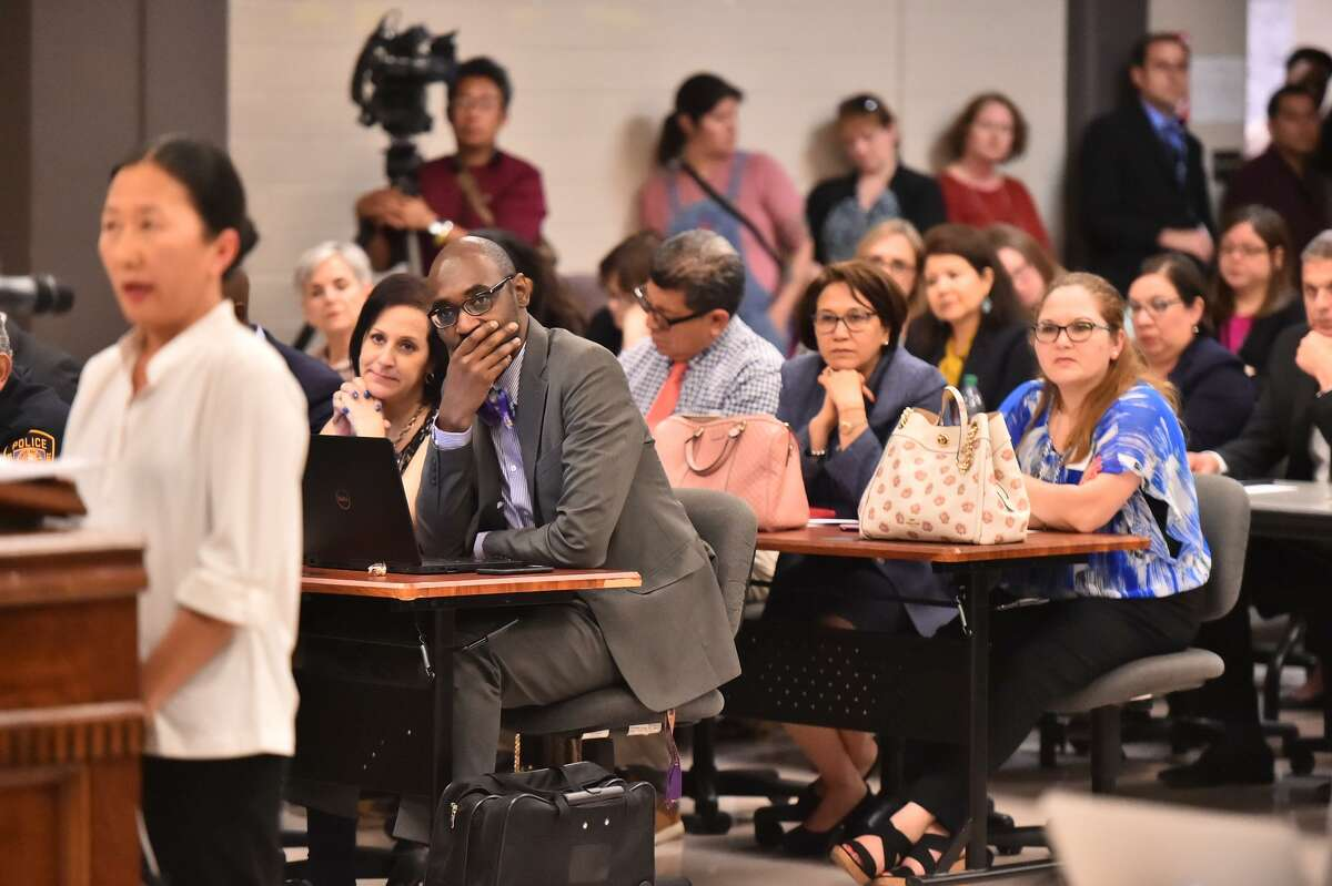 At this March 25 San Antonio School District board meeting, the board approved on partnerships with nonprofits to manage 18 schools. Parents overwhelmingly supported the move, and these campuses will continue to operate with the full oversight of the district.