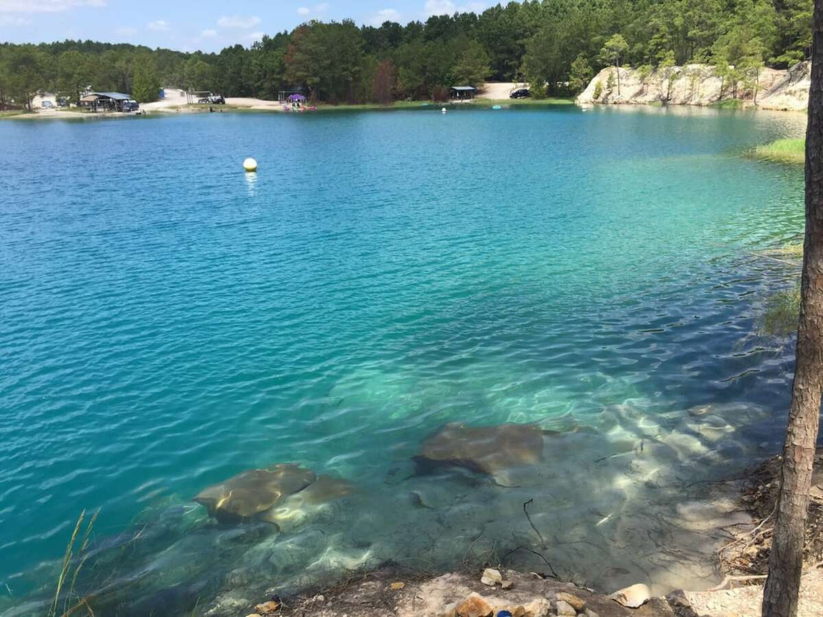 The Blue Lagoon in Huntsville hosts scuba-certification courses.>>>See other great swimming holes for cooling off across Texas.