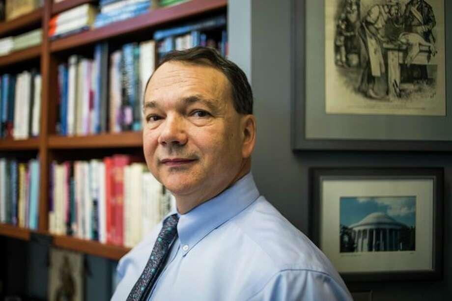 Joseph G. Lehman, president of the Mackinac Center for Public Policy. (Katy Kildee/kkildee@mdn.net)
