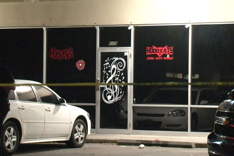 Police said several man on Monday night walked into HKMG studio in south Houston and opened fire on the people inside. A gun battle ensued, leaving one man dead.