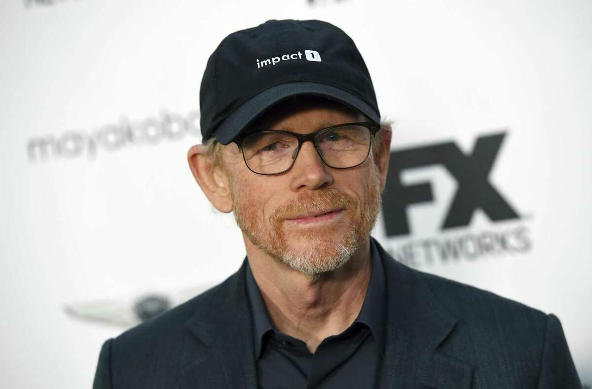 Filmmaker Ron Howard poses at a private cocktail party to celebrate the FX network's Emmy nominations in Los Angeles on Sept. 16, 2018. The American Red Cross will honor Howard at its annual Red and White Ball, scheduled for April at Westchester Country Airport.