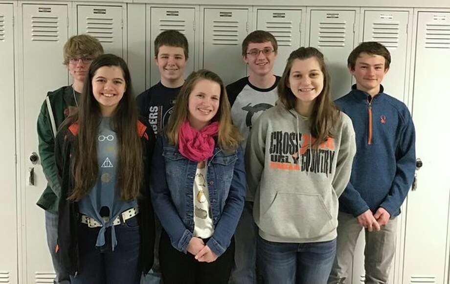 Ubly High School students will be moving on to state competition in April in East Lansing after a successful turnout at the Thumb Area Quiz Bowl League Tournament of Champions. (Submitted Photo)