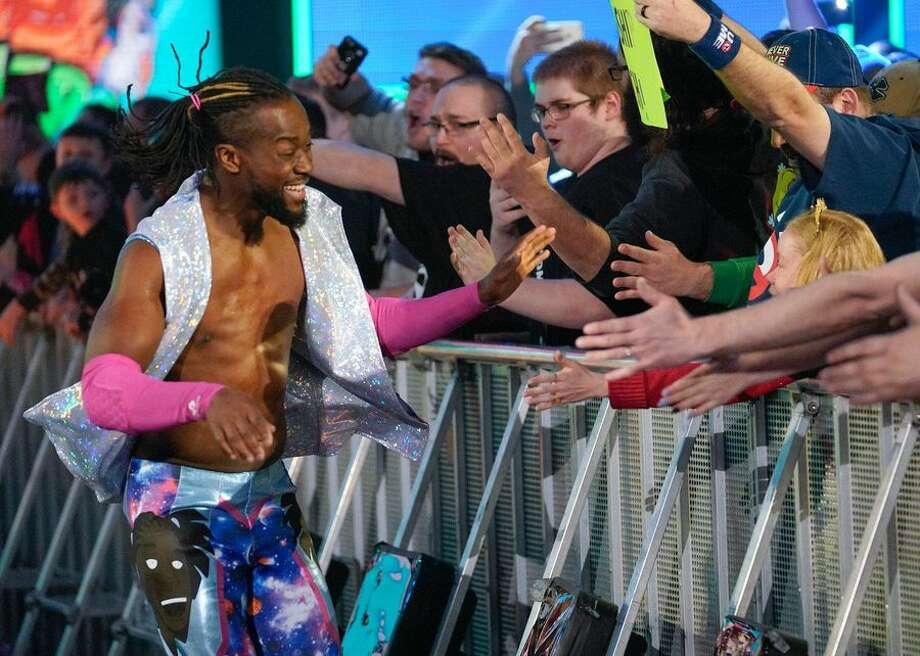 A member of the WWE roster since 2007, 2019 looks to be Kofi Kingston's year. Kingston in February was put into a gauntlet match, where he defeated three opponents in succession. The performance made him a star to fans, and now he looks to win the WWE Championship for the first time at WrestleMania. Photo: CBSI/CNET