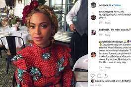 Beyoncé in a fan of B&B Butchers Houston.