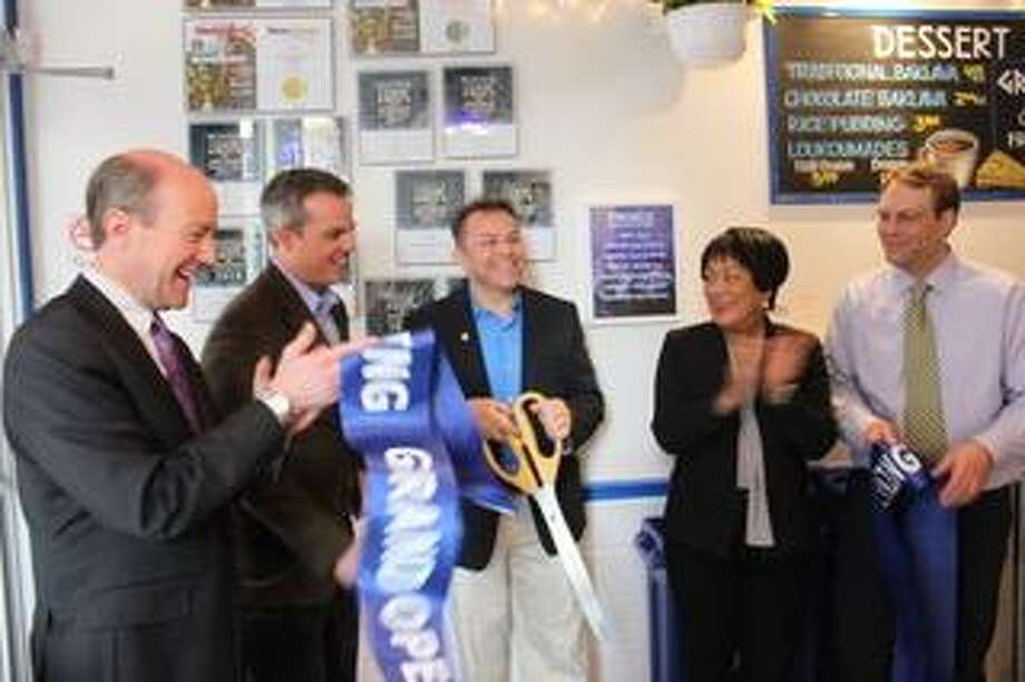 Freskos Greek restaurant opened21 Whitney Ave. in New Haven. Photo: Contributed