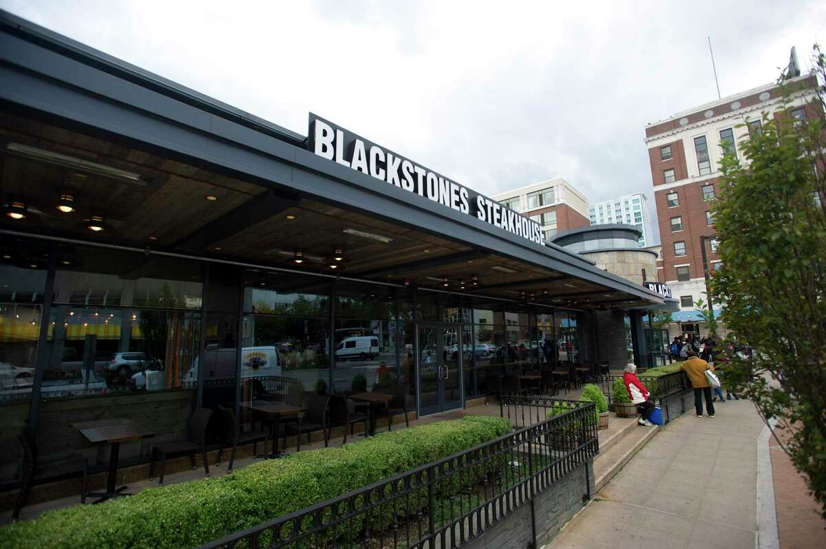 Blackstones Steakhouse opened in 2018 on at 1 Broad St., in downtown Stamford, Conn. Man chokes to death on steak in Stamford restaurant A 32-year-old man from Long Island died after choking on a piece of steak at the Blackstones Steakhouse in February. The man was given CPR and medics worked on him for 35 minutes. He was revived and the piece of steak was removed. Medics rushed him to the Stamford hospital, where he later died. Read more: Man chokes to death on steak in Stamford restaurant
