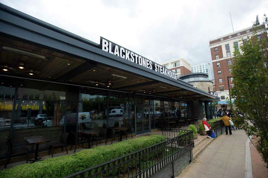 Blackstones Steakhouse opened in 2018 on at 1 Broad St., in downtown Stamford, Conn. Photo: Michael Cummo / Hearst Connecticut Media / Stamford Advocate