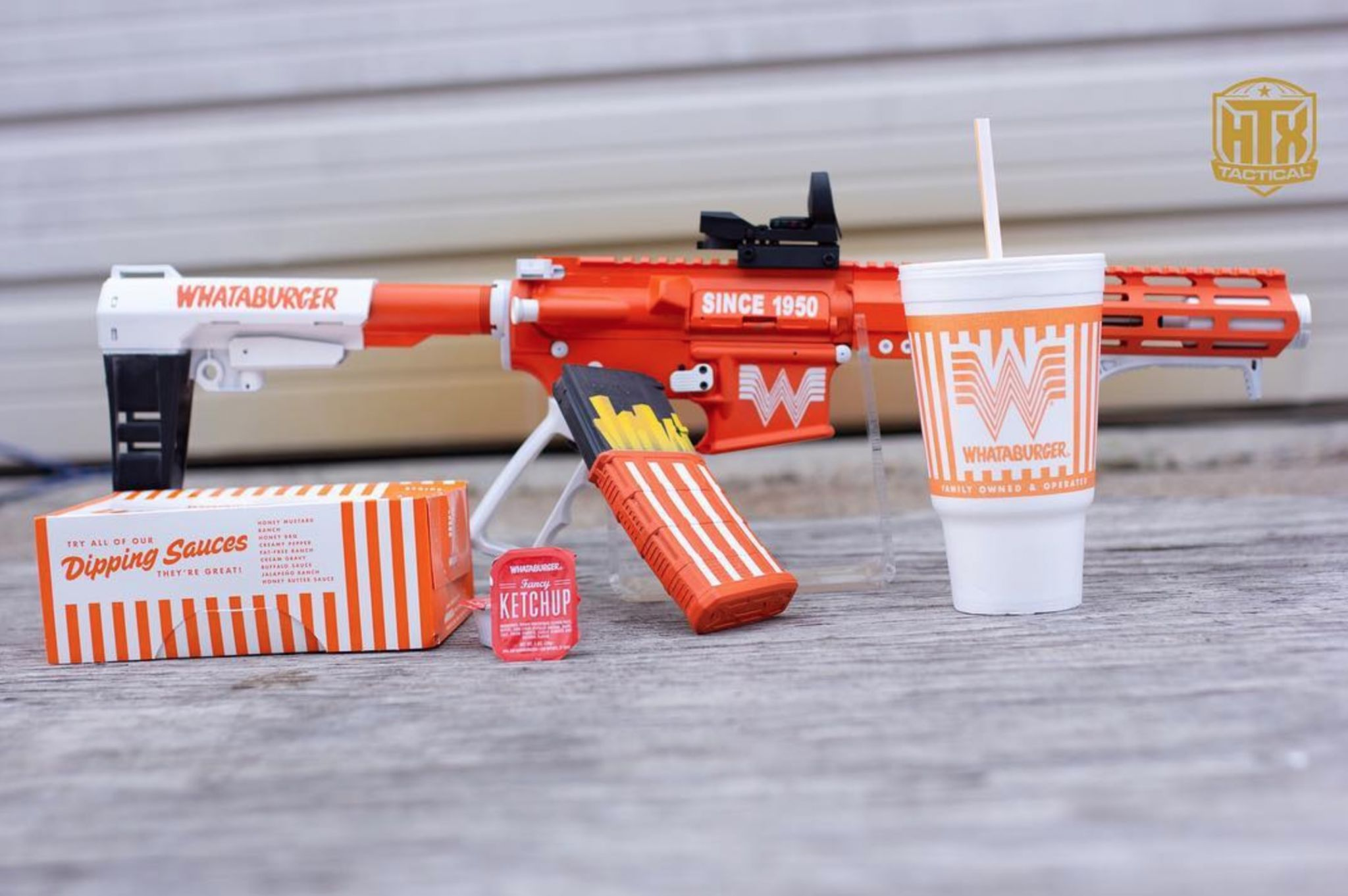 Whata-pistol: Houston gun maker combos Whataburger and firearms, Texas style