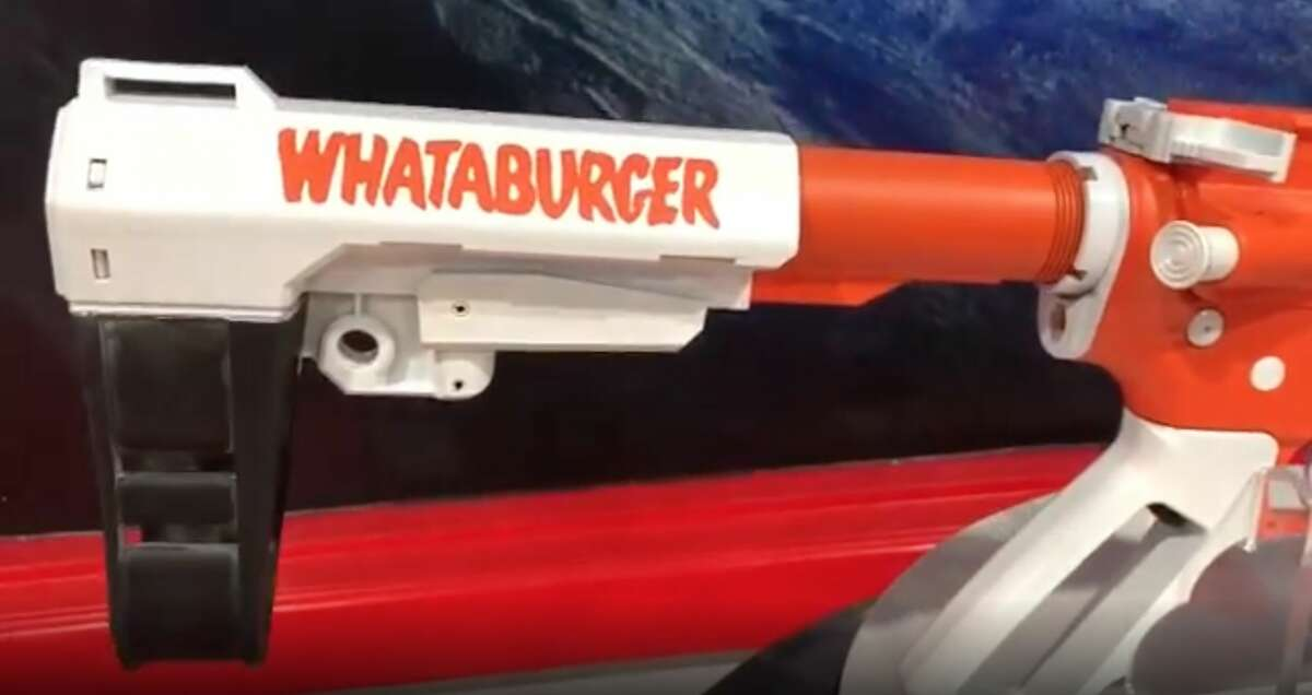 """A """"Whataburger fanatic"""" ordered the pistol from HTX Tactical."""