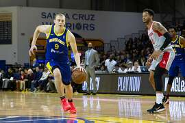 Alen Smailagic, 18, is emerging as an NBA draft prospect with the Santa Cruz Warriors.