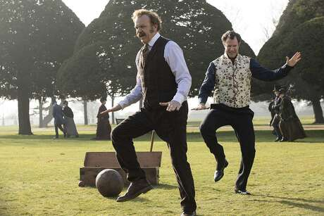 """John C. Reilly and Will Ferrell in """"Holmes & Watson."""""""