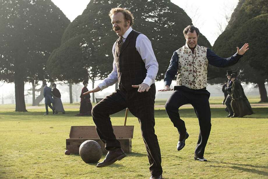"""John C. Reilly and Will Ferrell in """"Holmes & Watson."""" Photo: Columbia Pictures / Los Angeles Times"""
